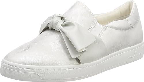 Tom Tailor Damen Sneaker low Sportschuhe Halbschuhe Schnürschuhe Textil Schuhe