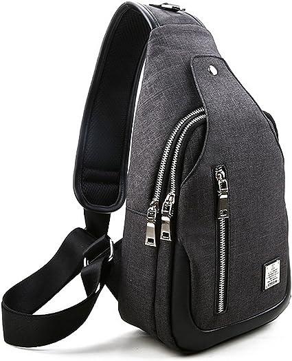 Crossbody Bag Sling Pack Chest Messenger Bag Nylon Shoulder Men Women bag New