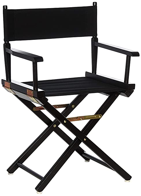 Beau Casual Home 18u0026quot; Directoru0027s Chair Black Frame With ...