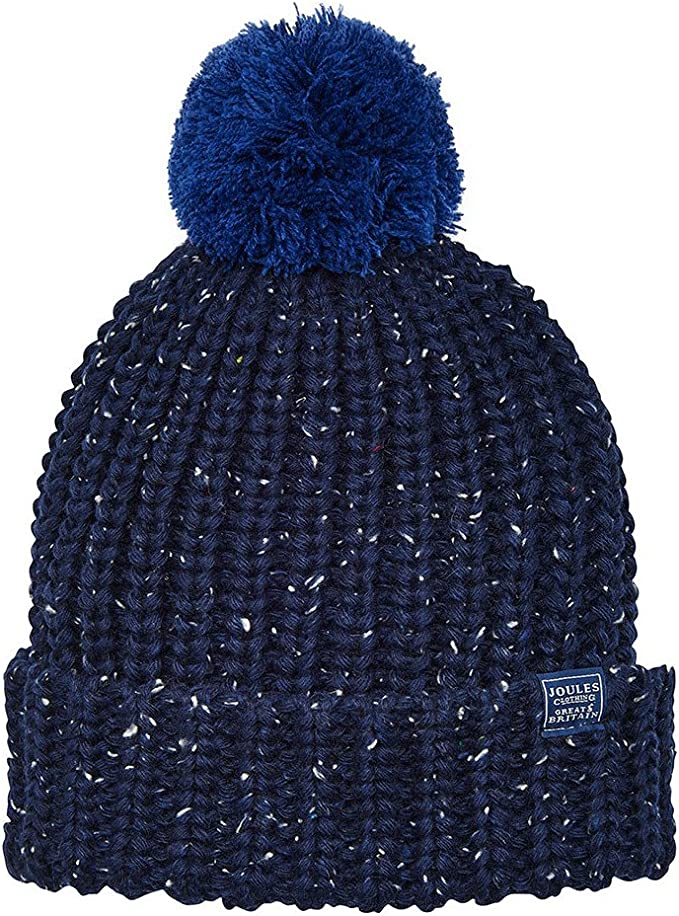 French Navy Joules Junior Bobble Hat