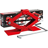 $21 » BIG RED T10152 Torin Steel Scissor Lift Jack Car Kit, 1.5 Ton (3,000 lb) Capacity, Red