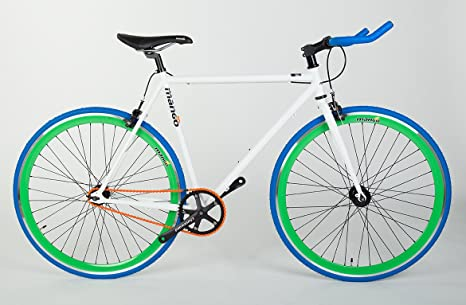 Bicicleta Fixie Mango Bikes The Cool Boy (L-55): Amazon.es ...