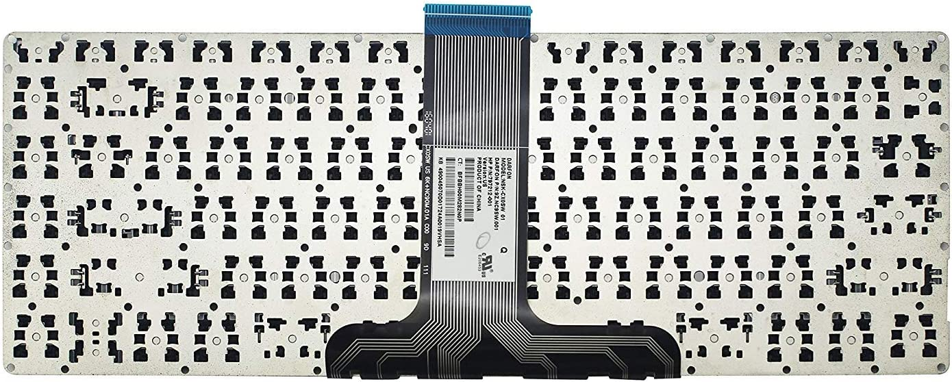 senlinxiaowu Original New for HP Pavilion X360 13-S120ca 13-S121ca US Black Keyboard
