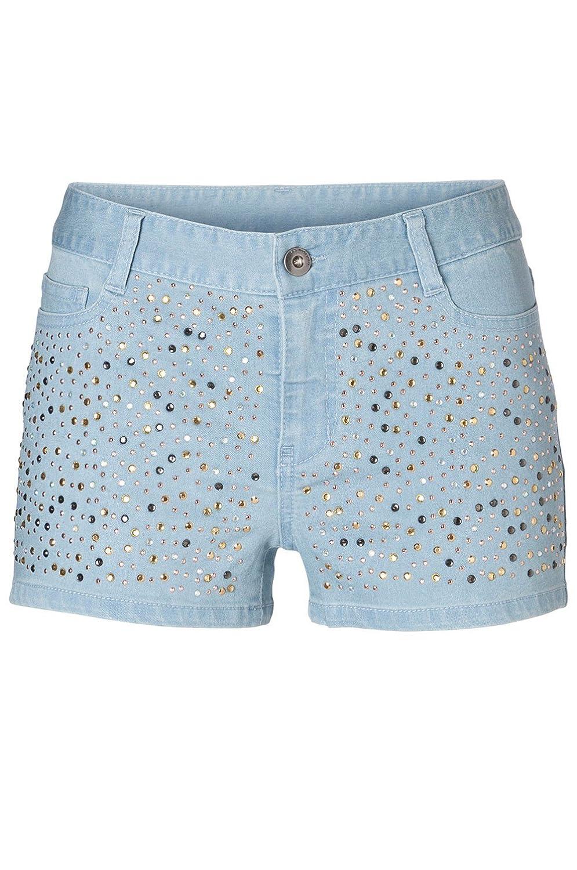 Vero Moda - Shorts jeans Vero Moda Flash Pearl - Bleu