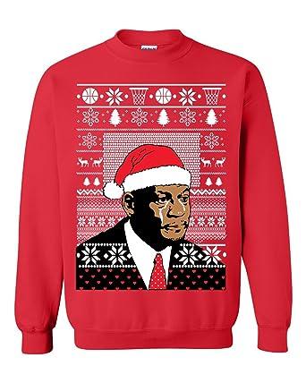 Ugly Christmas Sweater Meme.Unisex Jordan Crying Meme Ugly Christmas Sweater Funny Sweatshirt