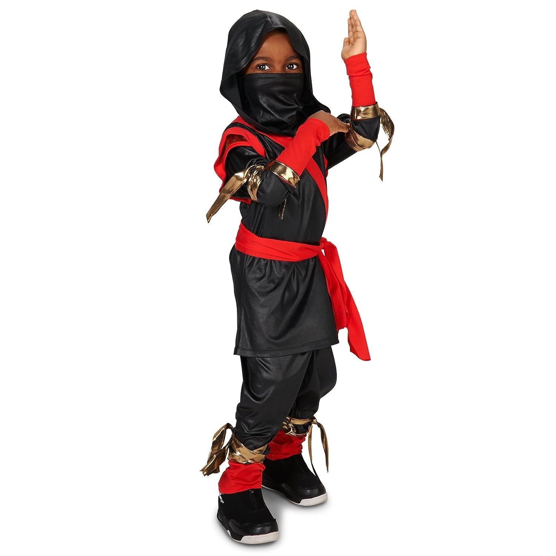 Amazon.com: Unknown - Black & Red Ninja Toddler Costume - 2 ...