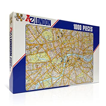 Az Street Map Of London.Az London Street Map Jigsaw Puzzle 1000 Piece