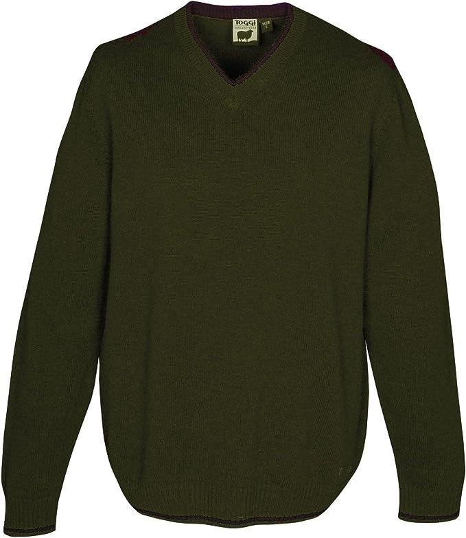Toggi rye mens v neck sweater