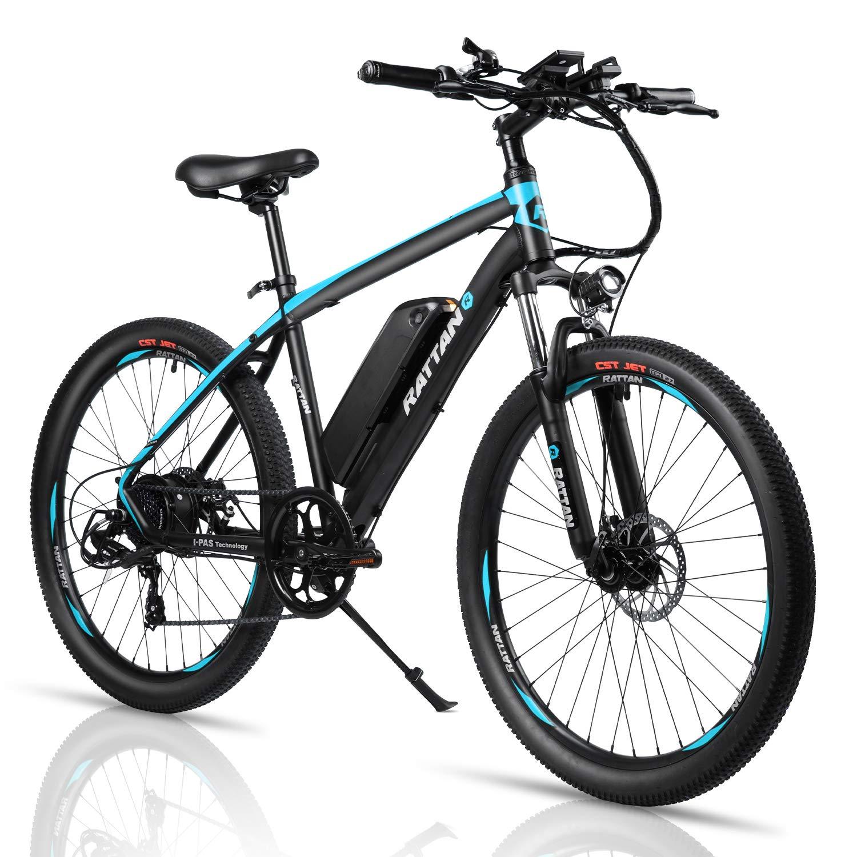 E Mountain Bike >> Rattan 26 Inch Aluminum Electric Mountain Bike 7 Speed E Bike 36v 10 4ah Lithium Battery 350w Electric Bicycle 26 Inch Adult Assisted E Bike