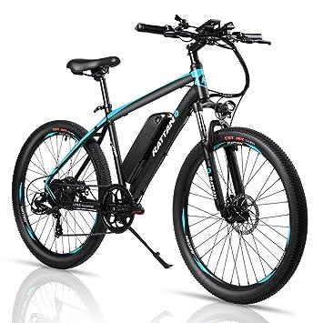 Amazon.com: Rattan Challenger Plus bicicleta eléctrica de ...