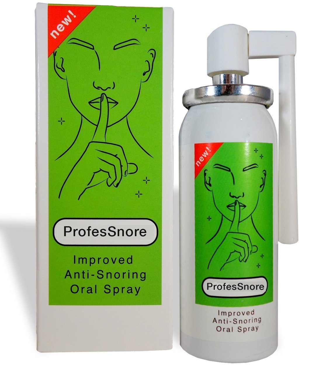 Snore Solutions Anti Snoring Stop Relief Spray ProfesSnore 1.69 Fl oz (50 ml)