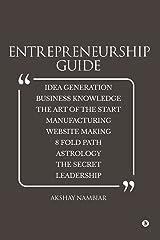 Entrepreneurship Guide Kindle Edition