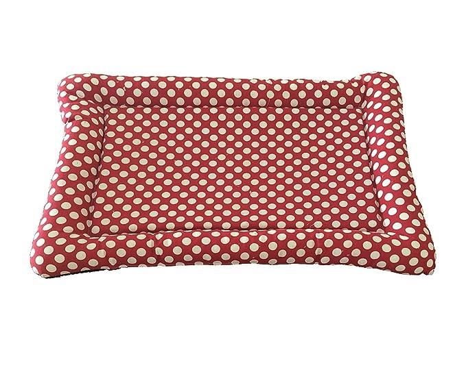 cuccetta gatti cani cuscino per Animali Cuccia 40x50 Colore Shabby cuore Rosso .Forma Rettangolare Disponibile in tre misure