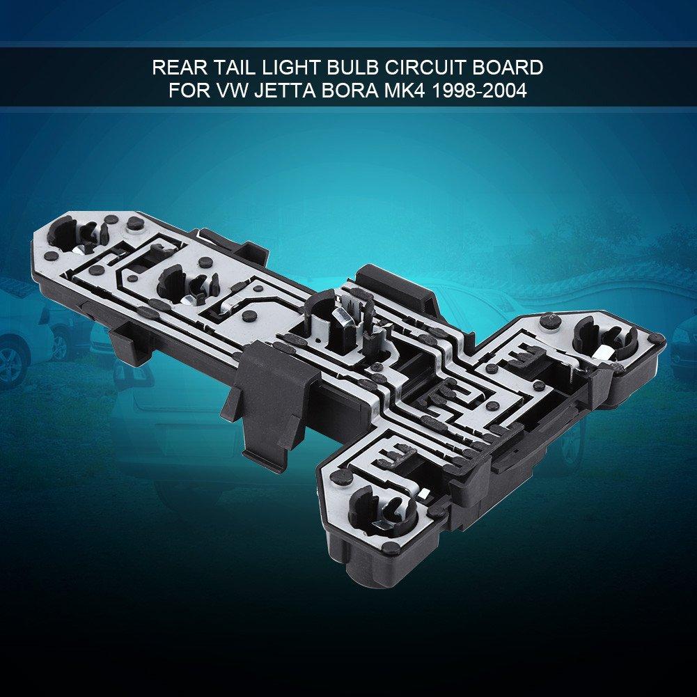 Tail Light Holder Rear Tail Light Bulb Holder Circuit Board for VW Jetta Bora MK4 1998-2004 1J5-945-257