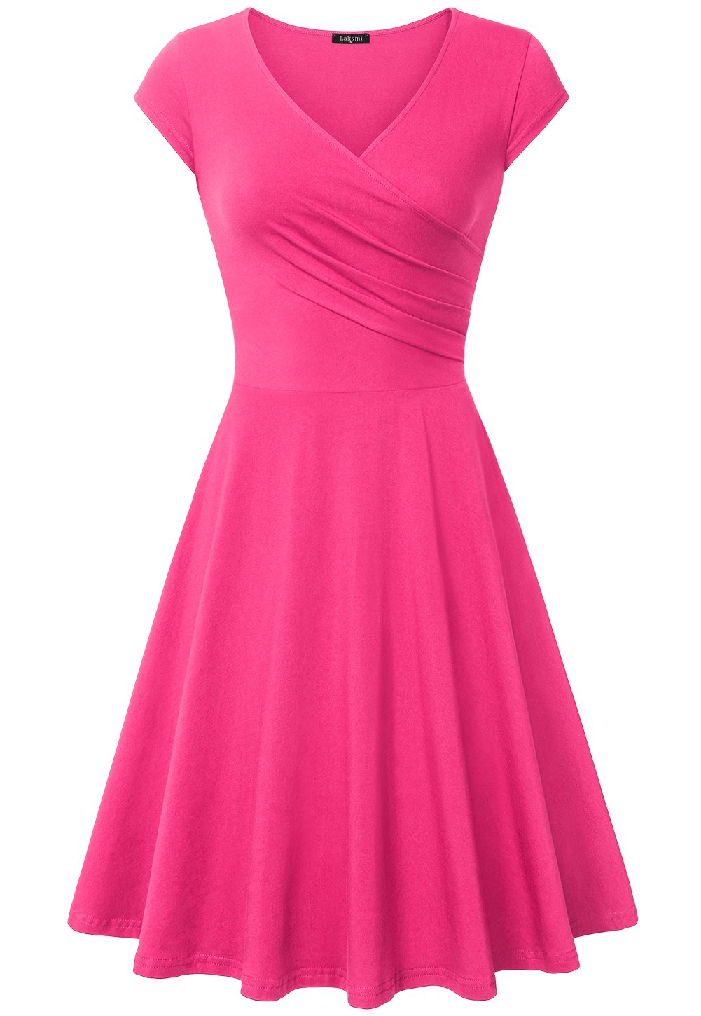 Laksmi Bridesmaid Dresses, Women Stretch Curve Summer Party Banque,X-Large Light Rose
