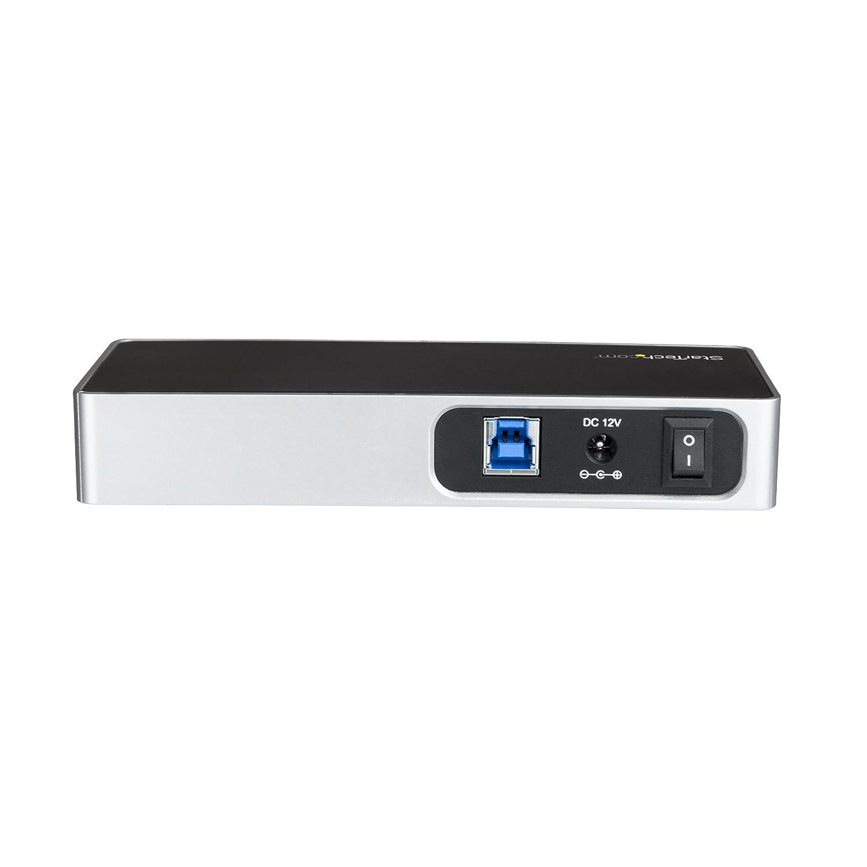 USB Type C Hub StarTech.com USB-C Hub Powered USB Hub Charging Station USB Port Hub 7 Port USB-C to 5 x USB-A and 2 x USB-C