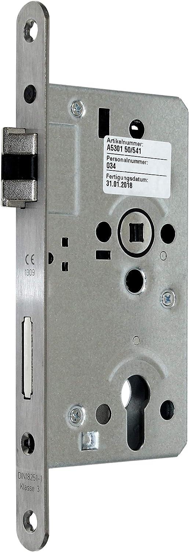 DL//DR SSF Einsteckschloss für Objekte mit Sperrfalle und Flüsterfalle Kl.III