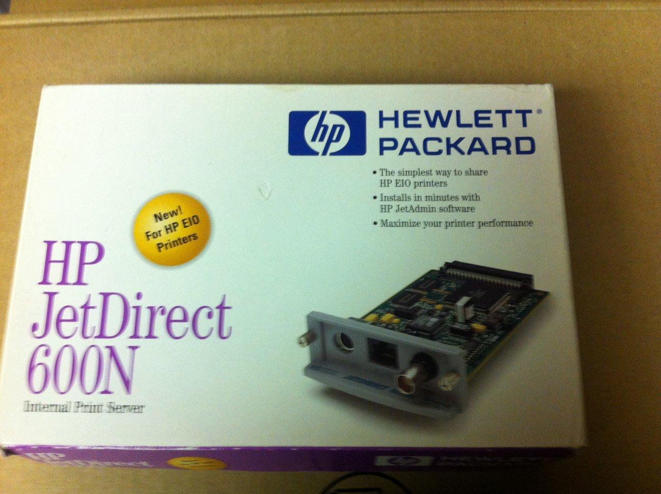 Color printing uw - Amazon Com Hp Jetdirect 600n J3111a J3111 Eio Print Server Nic Card Electronics