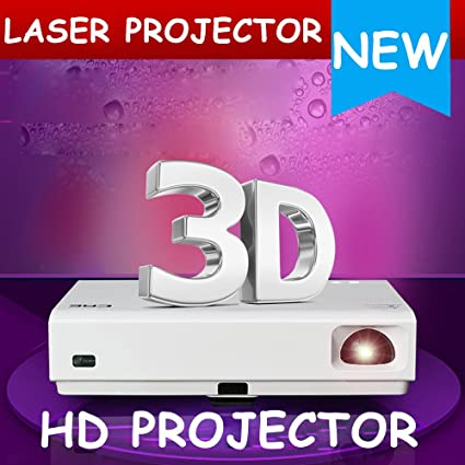 1080P DLP láser 3d proyector LED Home Cine Android Wifi Bluetooth ...