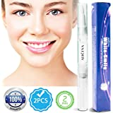 Aliceva Teeth Whitening Pen - Natural & Safe Tooth Whitener Treatment with Active Oxygen & 35% Carbamide Peroxide Gel - Mint Flavor