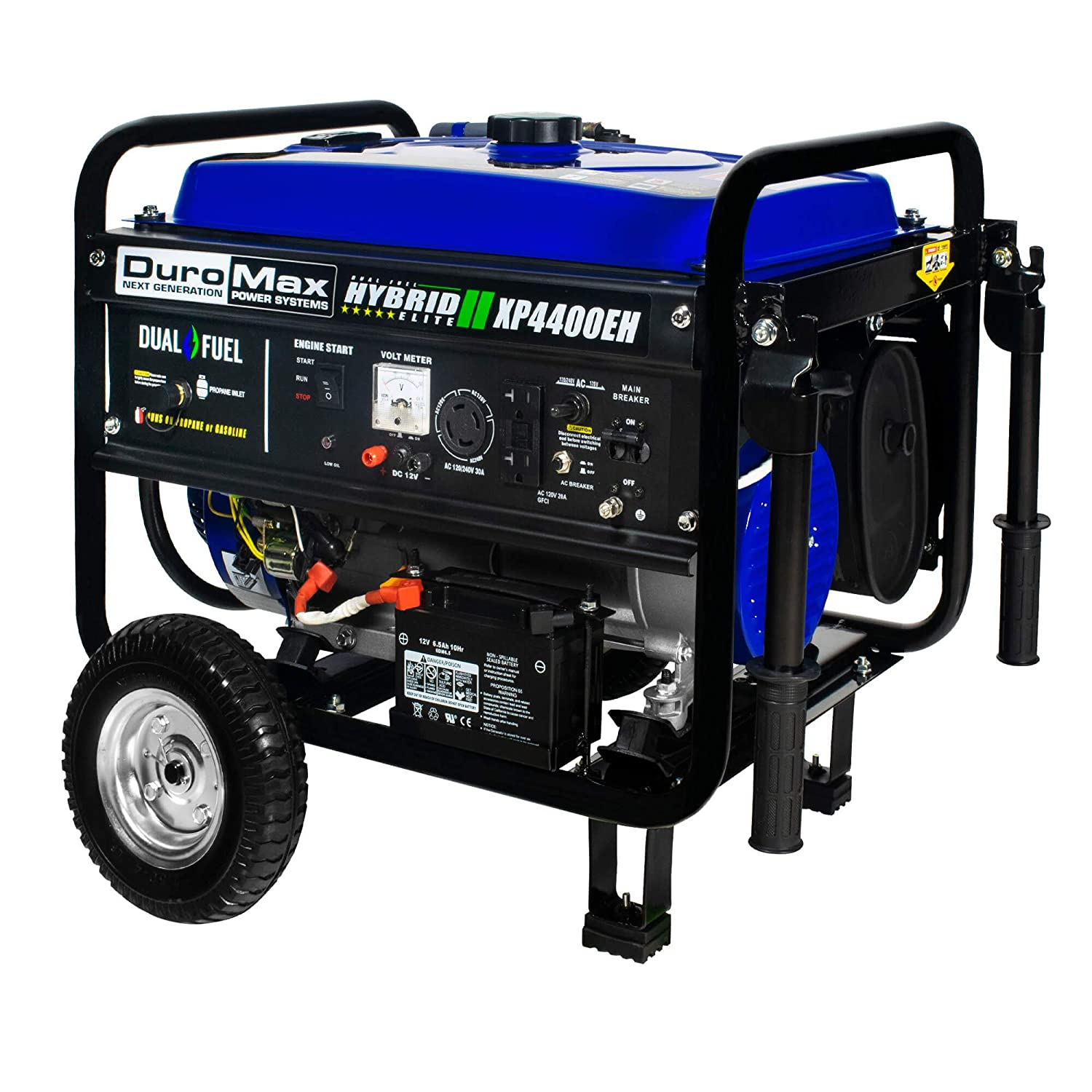 Duromax Xp4400eh 3500 Running Watts 4400 Starting Generator Avr Circuit Source Abuse Report Diesel Dual Fuel Powered Portable Garden Outdoor