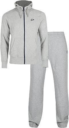 Oops Outlet Nike para hombre marca de Nike Fleece Jog traje sudadera con capucha para hombre cremallera completa sudadera con capucha Chándal: Amazon.es: Ropa y accesorios