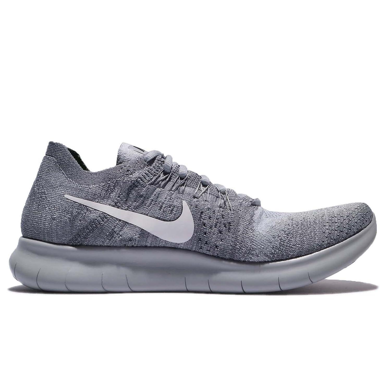 Nike Men's Free- RN Flyknit 2017 Running Shoe B07CYV4HLC 15 D(M) US|Wolf Grey/White-anthricite