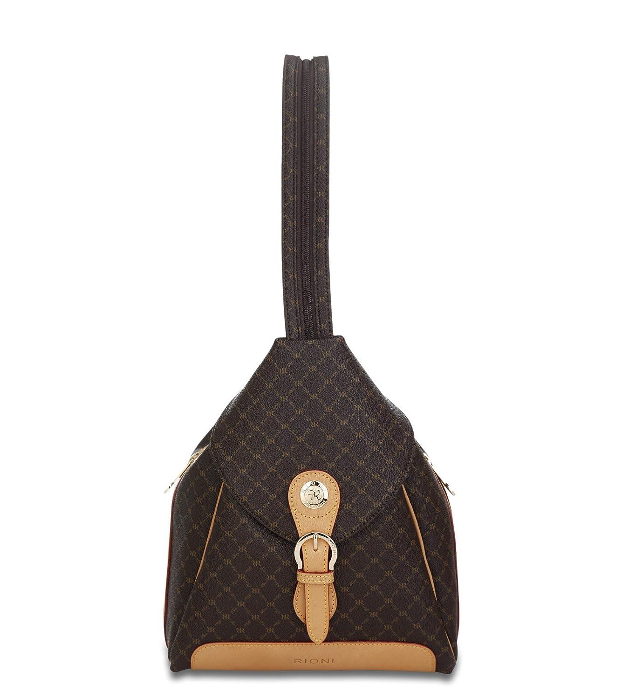 Zipper Strap Backpack St-20082 Rioni Signature
