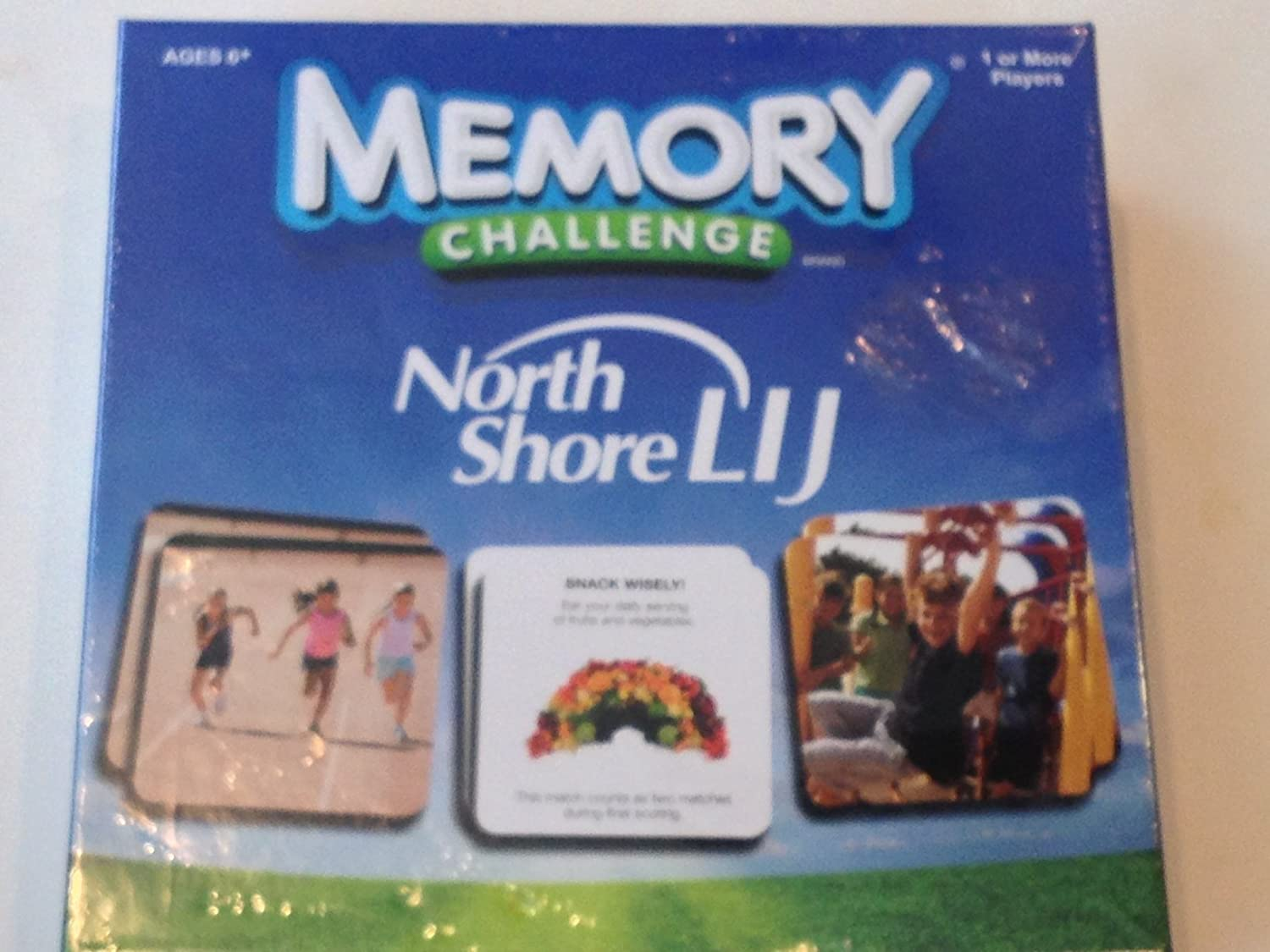 Memory Challenge Game North Shore LIJ Game
