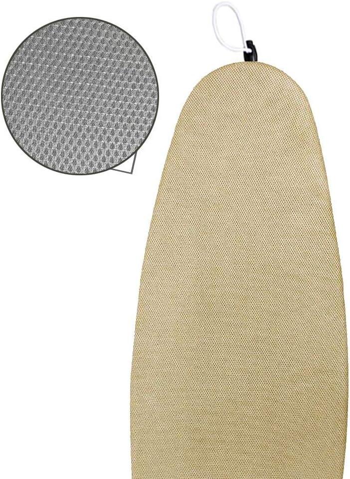 Ginger B eingen/ähte Bungee Cord Bindung einzigartige Mesh-Material f/ür eine bessere Bel/üftung Duwee 38x137cm Ersatz B/ügelbrettbezug mit verdicktem Filz Material Polsterung