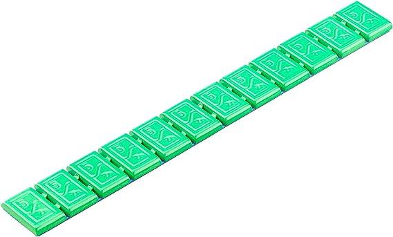 6x Wuchtgewichte Klebegewichte Grün Typ380 60g Hofmann Power Weight Bunte Klebegewichte Für Alufelgen Leichtmetallfelgen Auswuchtgewichte Grün Auto