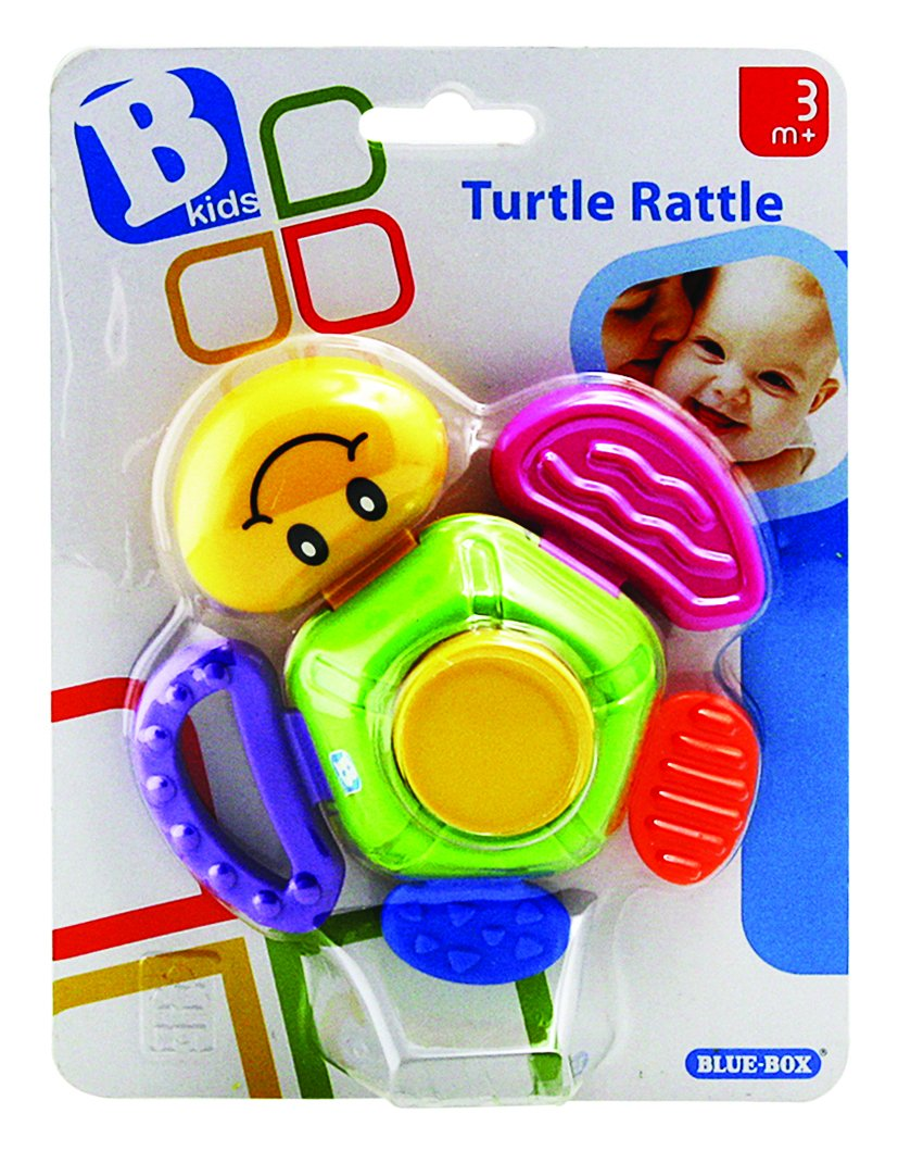 Motivo: Tartaruga /Massaggiagengive con Effetti sonori BKIDS B Kids/ Blue Box 073640