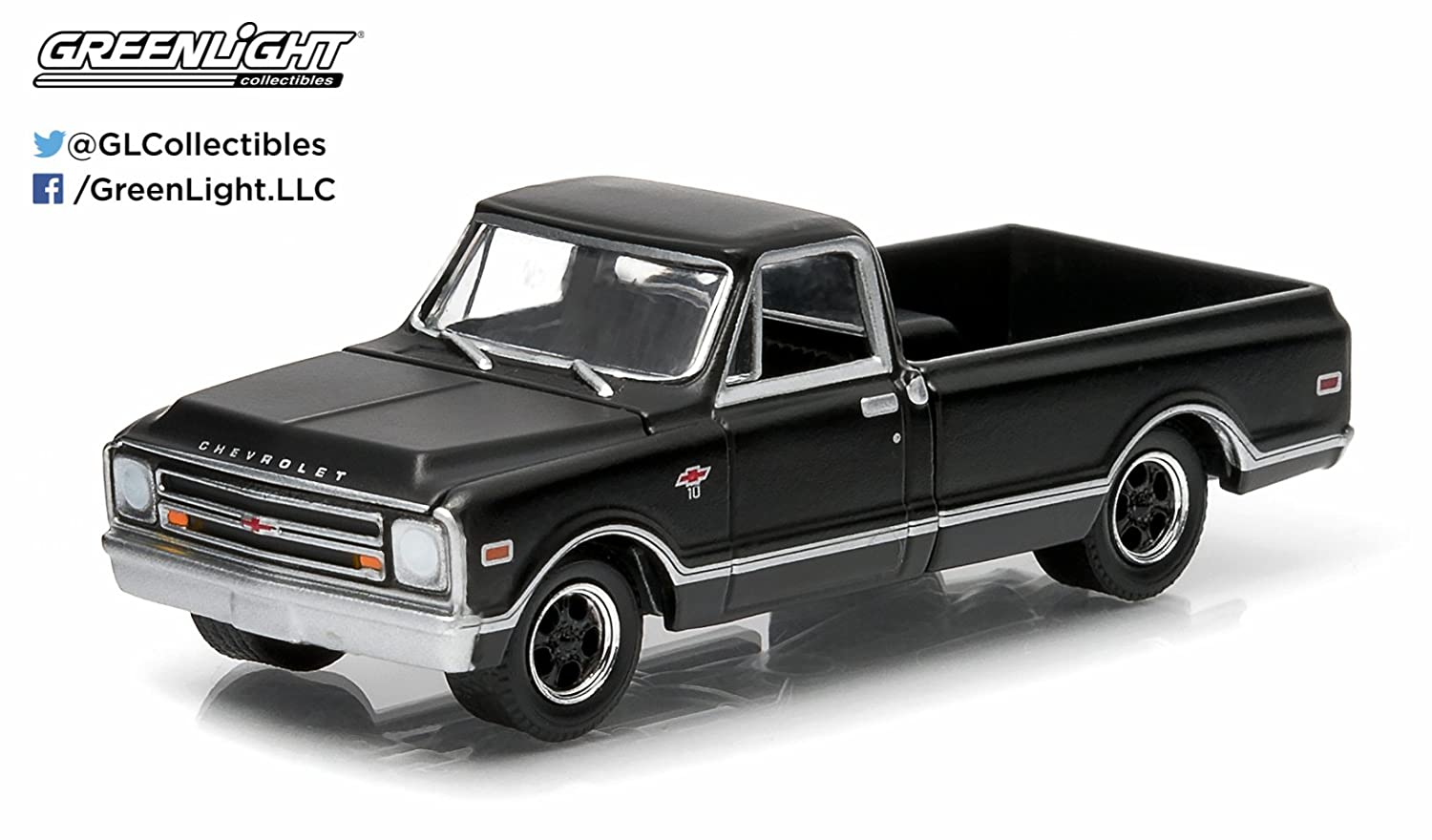 All Chevy chevy c-10 : Amazon.com: 1968 Chevrolet C-10 * Black Bandit Collection * Series ...