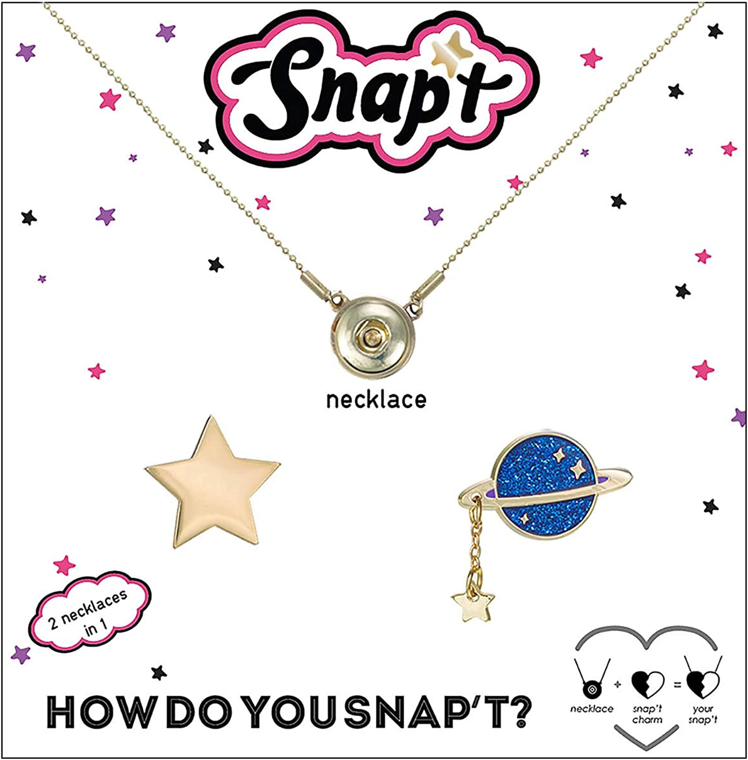 Snapt Galaxy Two in one Necklace