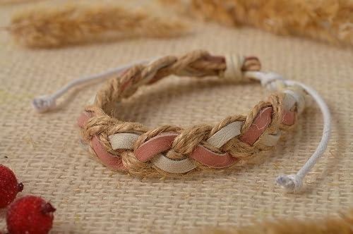 Amazon com: Handmade Bracelet Leather Jewelry Gifts for