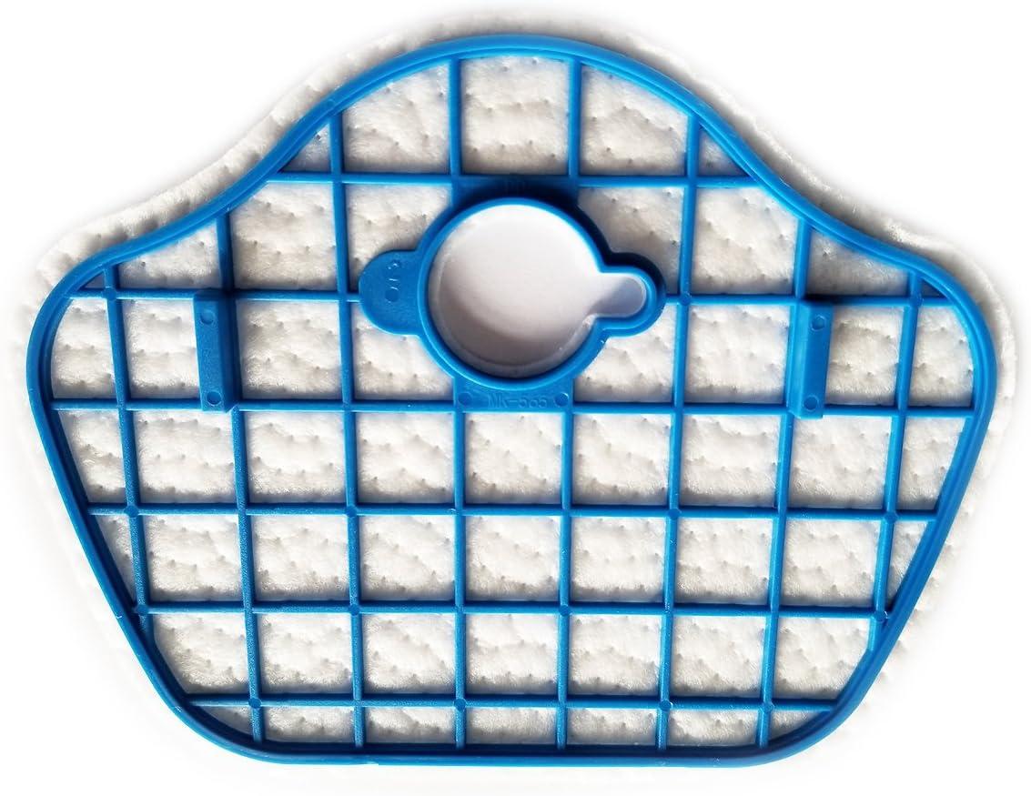 spazzola laterale Tekehom confezione da 4/filtri Hepa di scarico # 2/parti di ricambio per aspirapolvere Philips Smartpro Compact FC8772/FC8774/FC8776/FC8972 2/