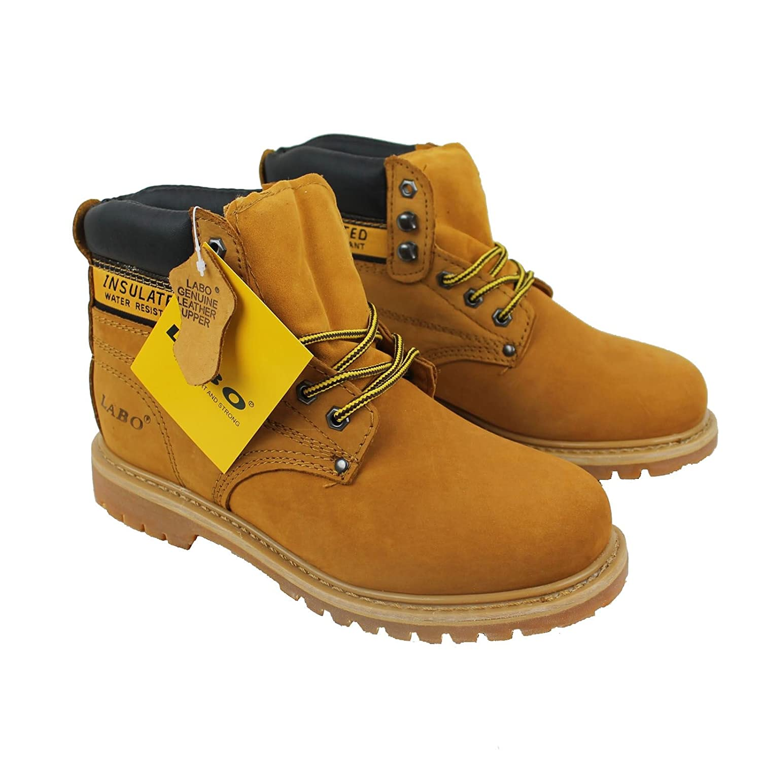 e952c89f0ff LABO Men's Genuine Leather Work Boot in 5 Style by CITISHOESNYC