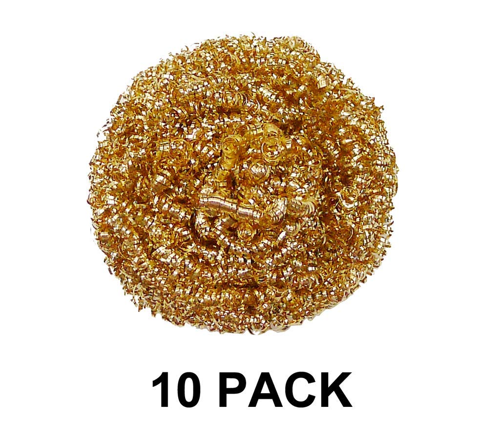 Thermaltronics BC-10 Solder Tip Cleaning Wire (10 PACK) interchangeable for Metcal AC