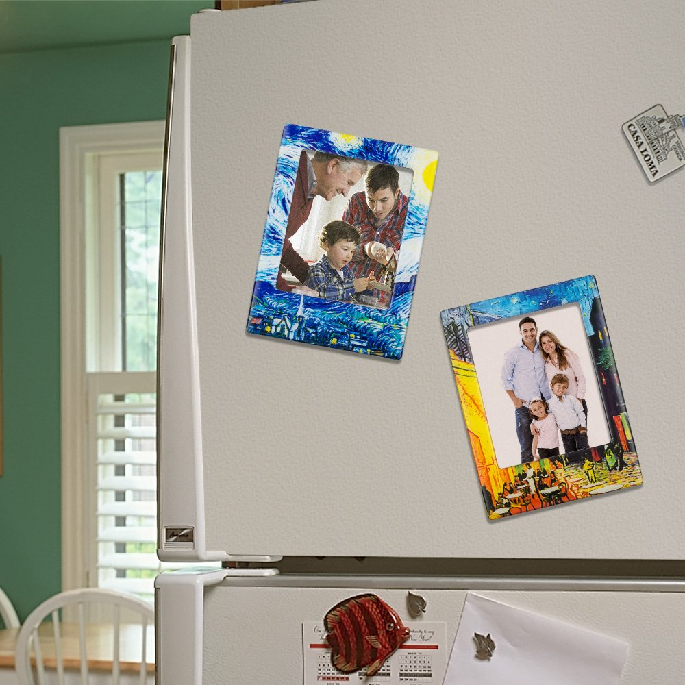 UBAOXIN Kühlschrank Magnete, Kühlschrankmagnet Set Lustige Deko Büro ...