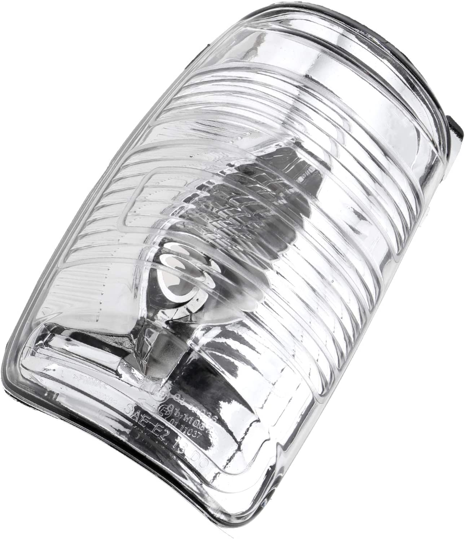 Spiegelblinker Spiegel Abdeckung Außenspiegel Weiß Links Kompatibel Mit Mk8 Baumarkt