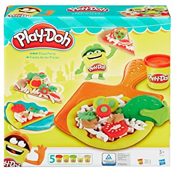 Play Doh Küche | Hasbro Play Doh B1856eu4 Pizza Party Knete Amazon De Spielzeug
