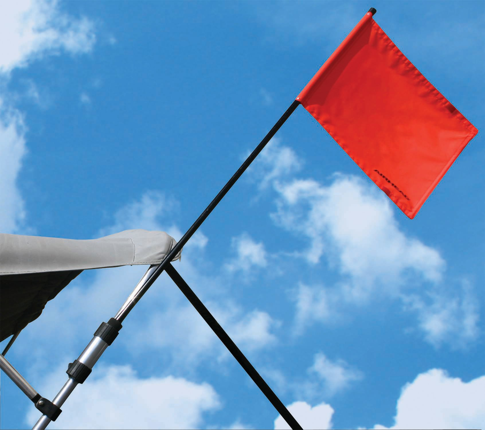 Bimini Top Flag Holder