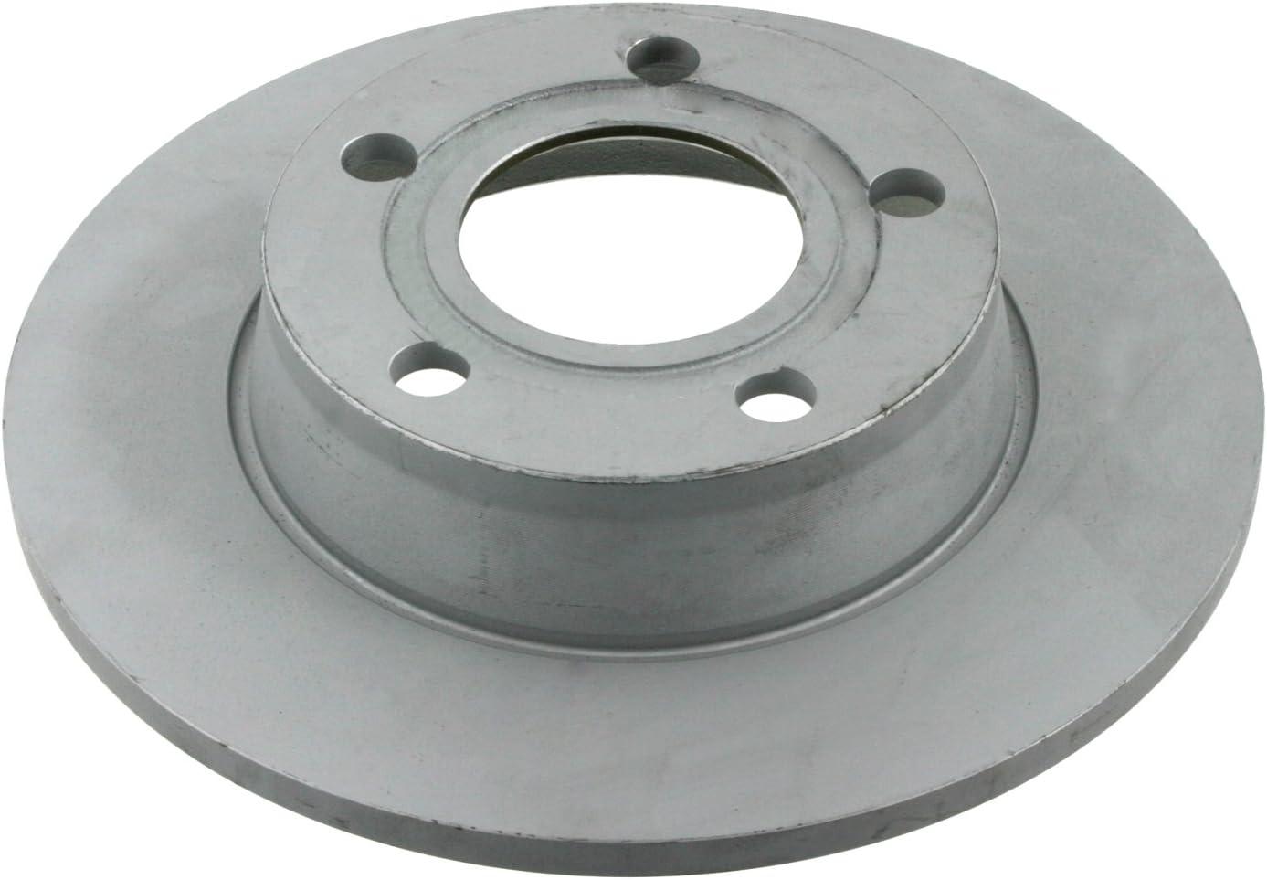 rear 2 Brake Disc No full of Holes 4 febi bilstein 17212 Brake Disc Set
