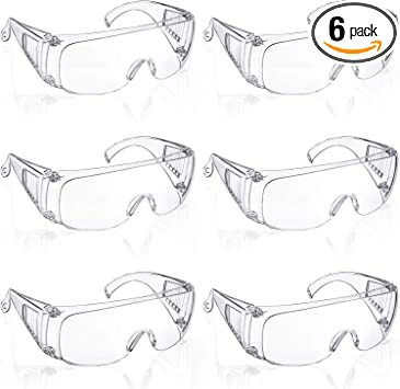 Protective Goggles Anti-Fog Outdoor Safe Lab Glasses