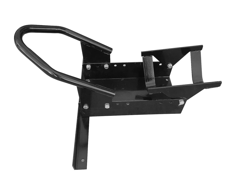 MaxxHaul 80077 Standard Motorcycle Wheel Chock with Pivoting Cradle