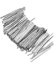 Chic 800 Pcs Metallic Twist Ties for Candy Lollipop Cake Pop Cello Bag Party