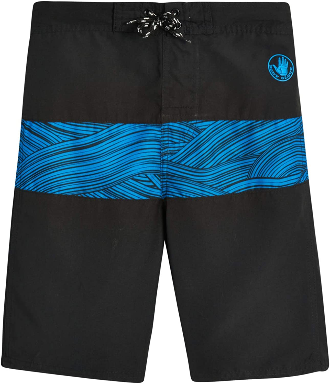 Body Glove Boys' Swim Trunks – UPF 50+ Quick-Dry Board Shorts Bathing Suit (Big Boys): Clothing