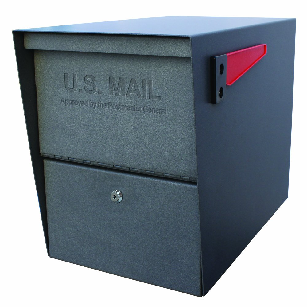Mail Boss Package Master Security Mailbox, Granite 7205