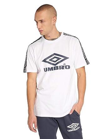 Umbro Hombres Ropa Superior/Camiseta Taped Crew: Amazon.es: Ropa y ...