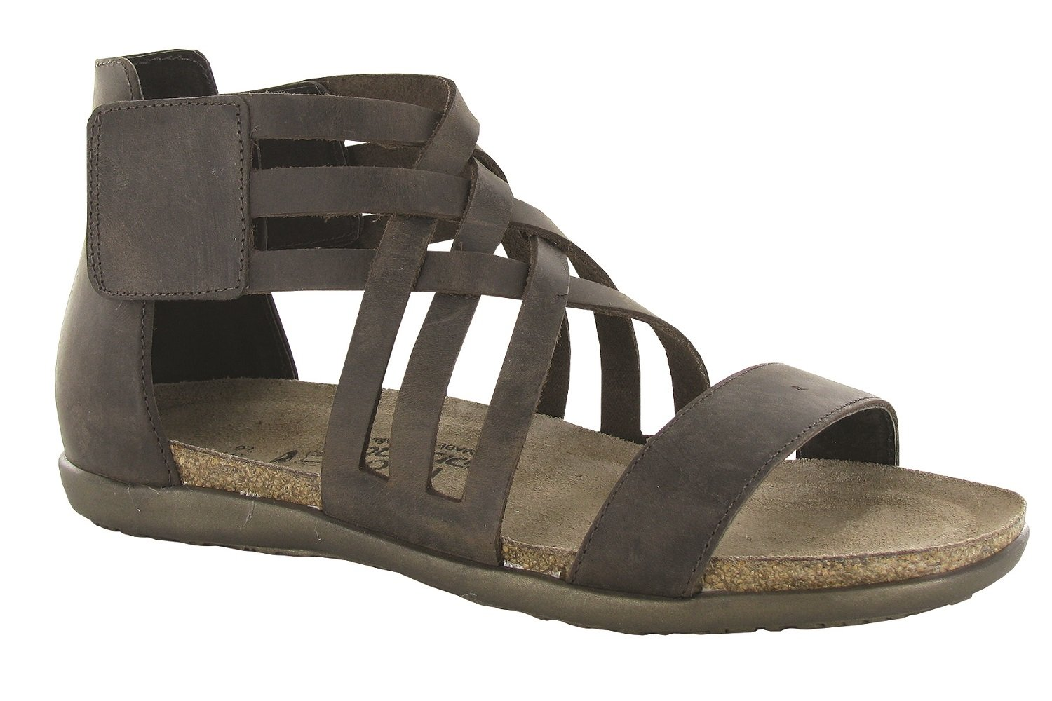 NAOT Women's Marita Sandal B0742NZ8CB 39 M EU|Crazy Horse Leather